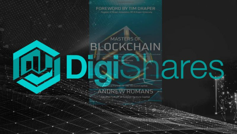 "DigiShares featured in ""Masters of Blockchain"" book 