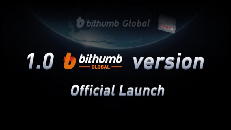 Bithumb Global Now Officially Out Of Beta: 1.0 Version Launched With Full Upgrades | CCG