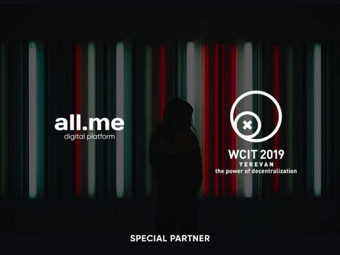 all.me digital platform becomes WCIT 2019 Special Partner | CCG
