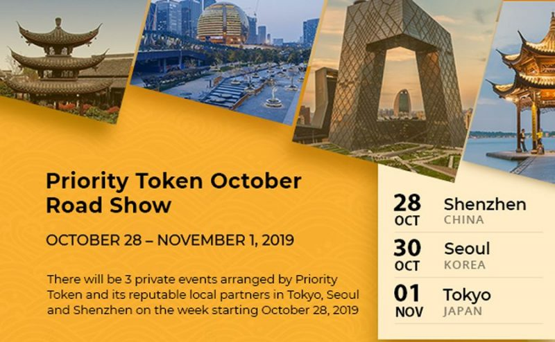 Join Priority Token for the October Tour to meet to find the most relevant investors in Asia | CCG