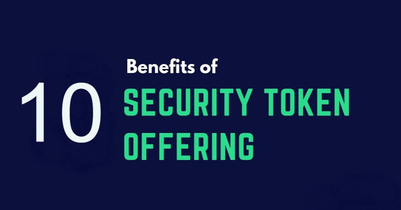 10 Benefits of Security Token Offerings | CCG