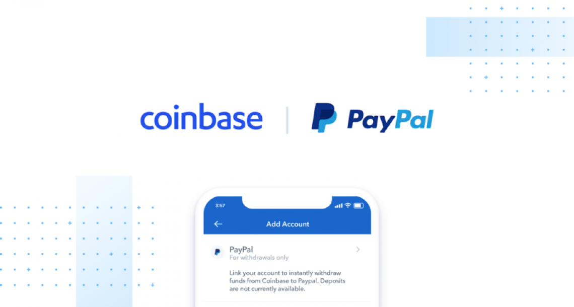 Instant PayPal withdrawals on Coinbase now available for all U.S. customers