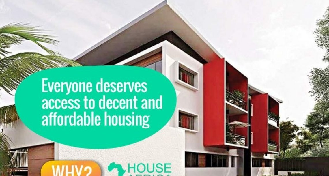 HouseAfrica to build 6,700 houses over the next five years in Africa, leveraging the blockchain to ensure transparency