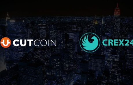 CUTcoin is now listed on CREX24