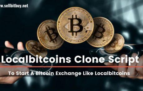 Great revenue model of the year Localbitcoins clone script