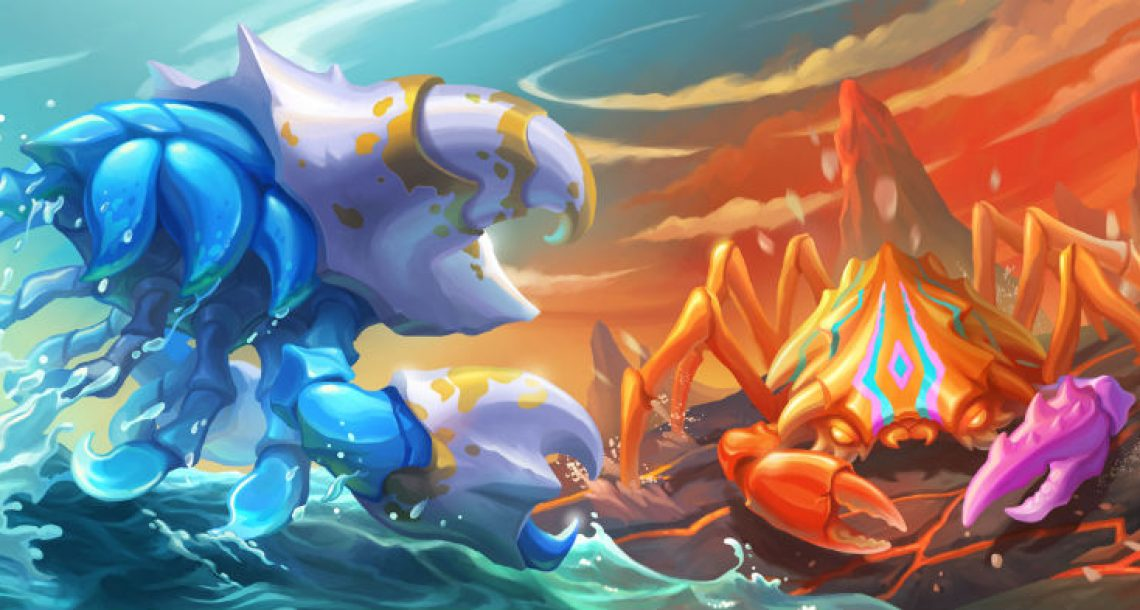 Q1 2020 Updates coming to CryptantCrab, Blockchain Game with Crabs that you can Mutate and Battle