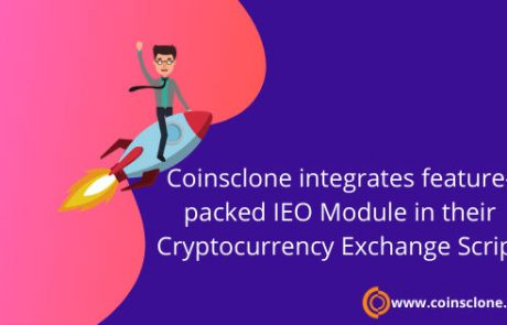 Coinsclone integrates feature-packed IEO Module in their Cryptocurrency Exchange Script
