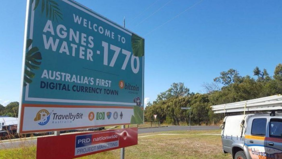 """Agnes Water: Australia's first """"digital currency-friendly"""" tourist town"""