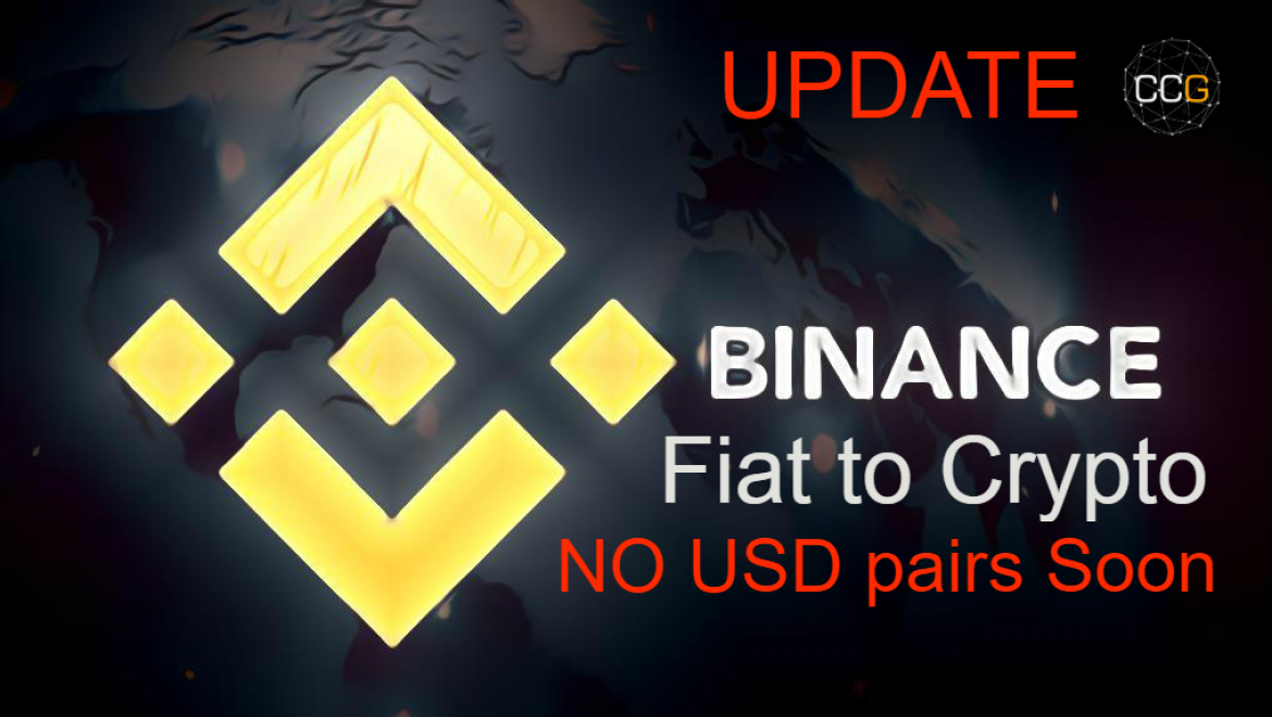 UPDATE: Binance CZ Said They Are Working With Banks But No USD Pairs Soon