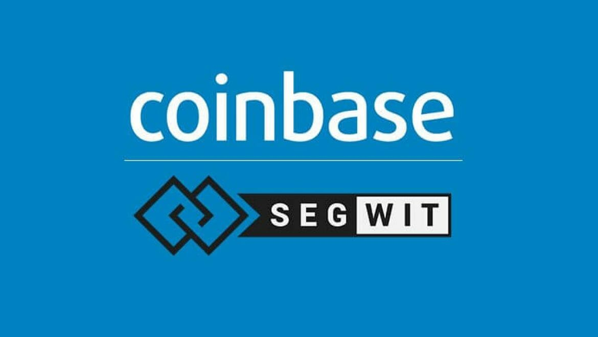 COINBASE PLANS SEGWIT RELEASE 'IN A FEW WEEKS'