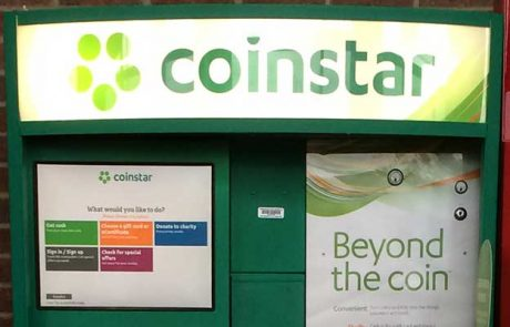 Coinstar parteners with Coinme to sell Bitcoins through ATM's