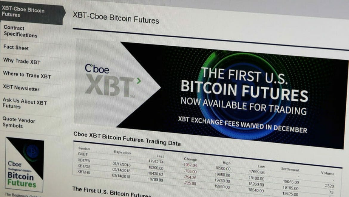 Futures: Bitcoin is just the beginning
