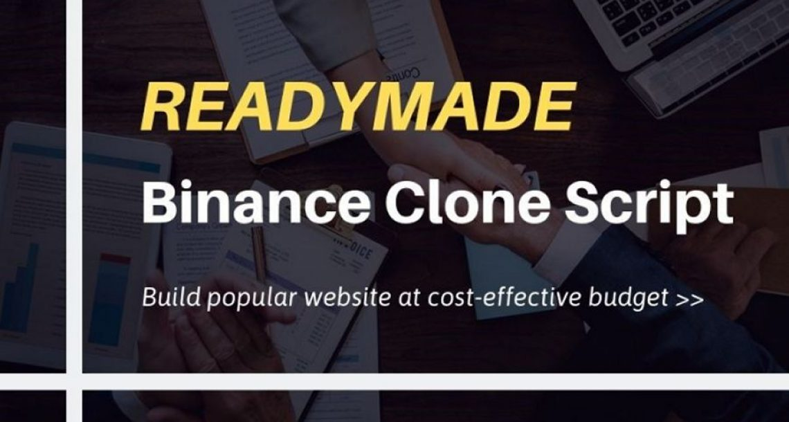 Binance Clone Script-To Start Crypto Exchange Website Like Binance
