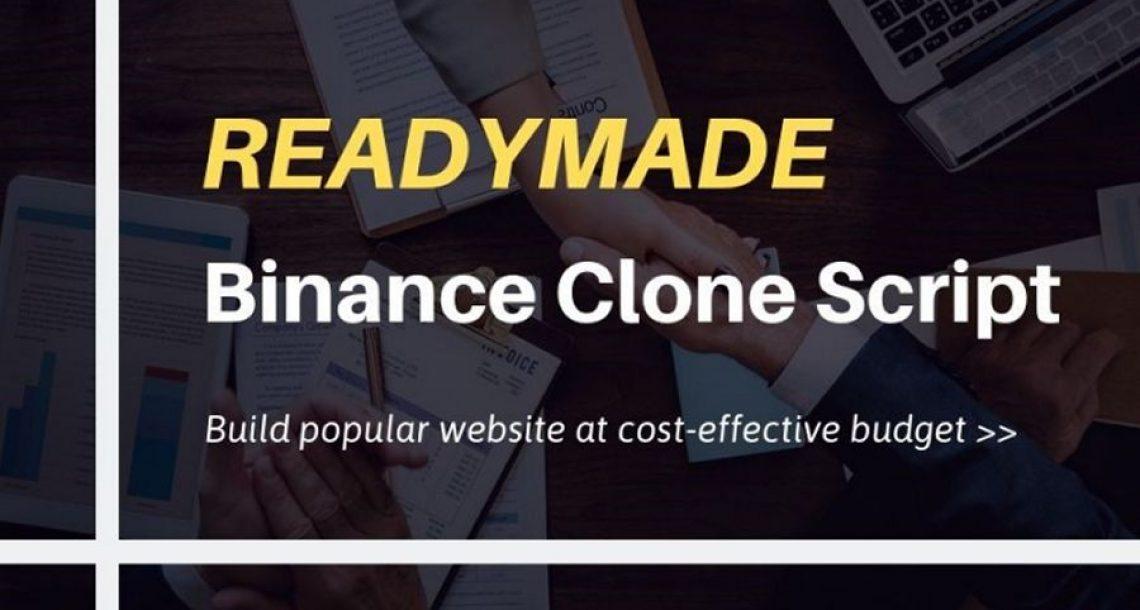 Binance Clone Script-To Start Crypto Exchange Website Like Binance