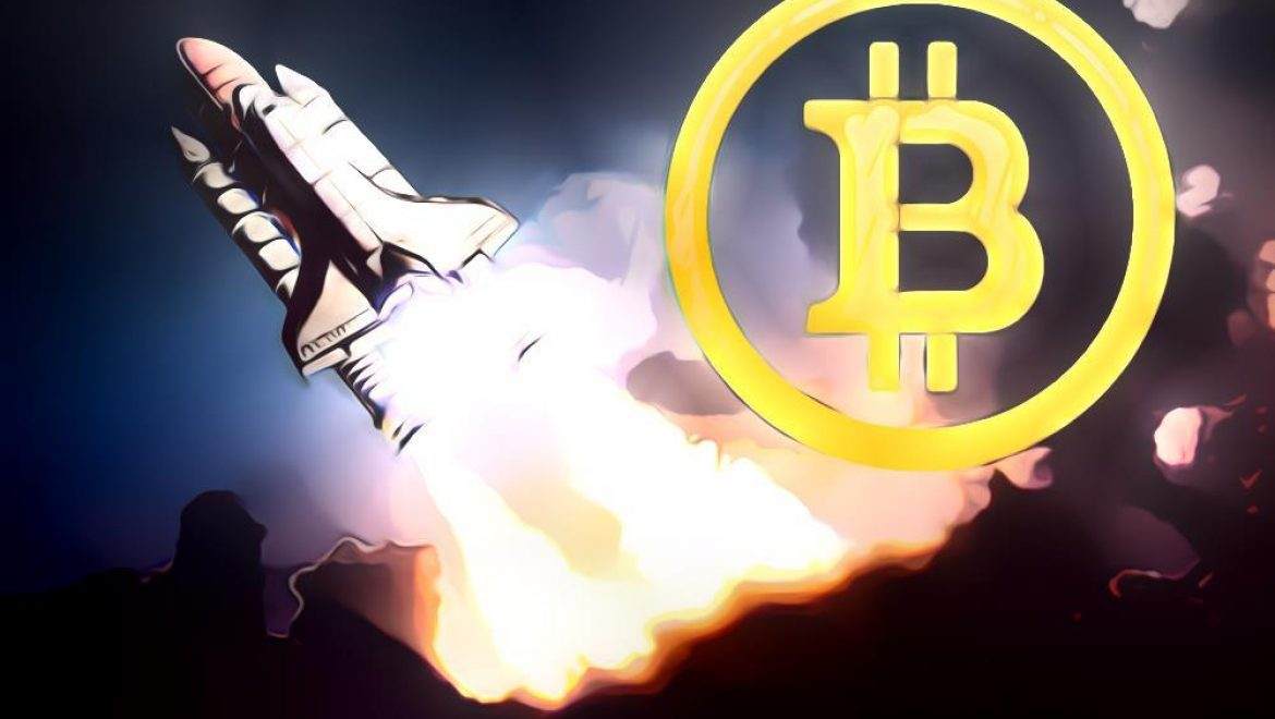 Bitcoin Price Rises $1,000 in Half-Hour Reaching $8,000
