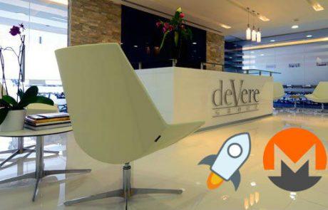 Stellar and Monero added to deVere Crypto exchange due to public demand