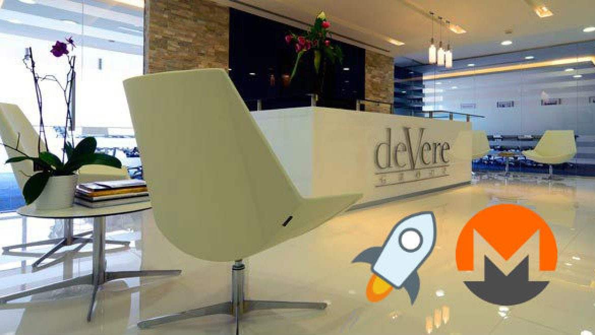 Stellar and Monero added to deVere Crypto exchange due to public demand