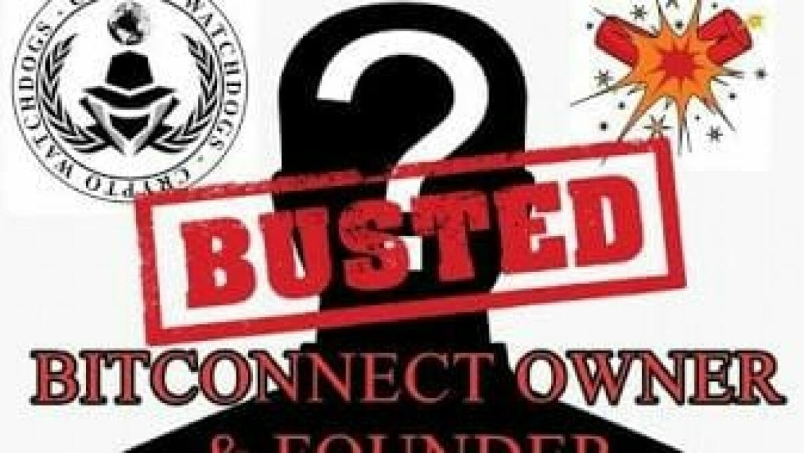 Owner & founder of Bitconnect Found?
