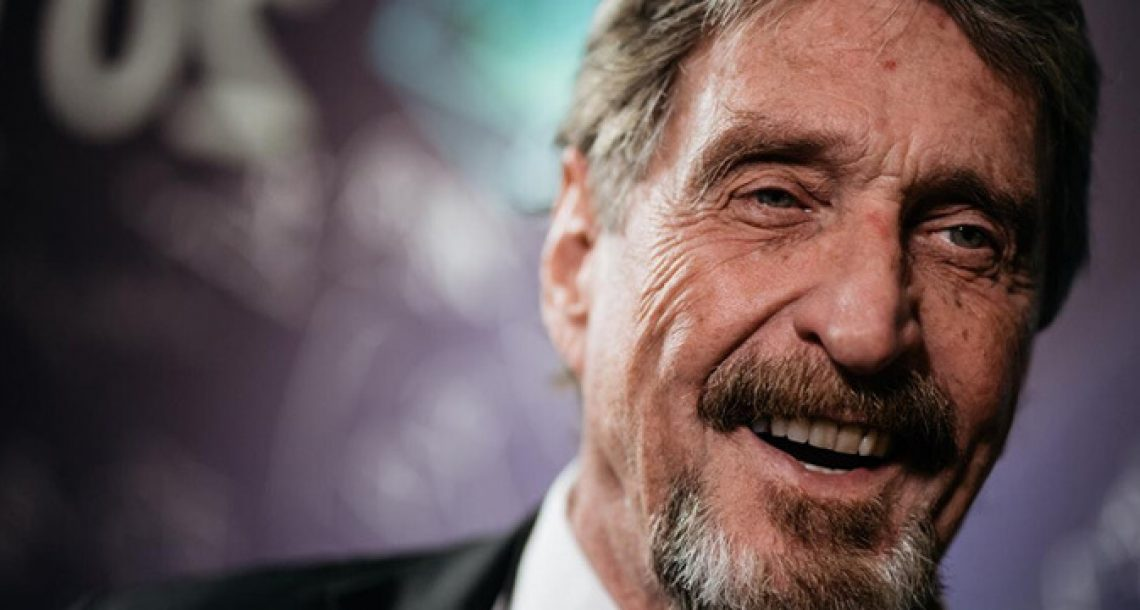 The John McAfee, Bitfi and Hackers Saga Continues