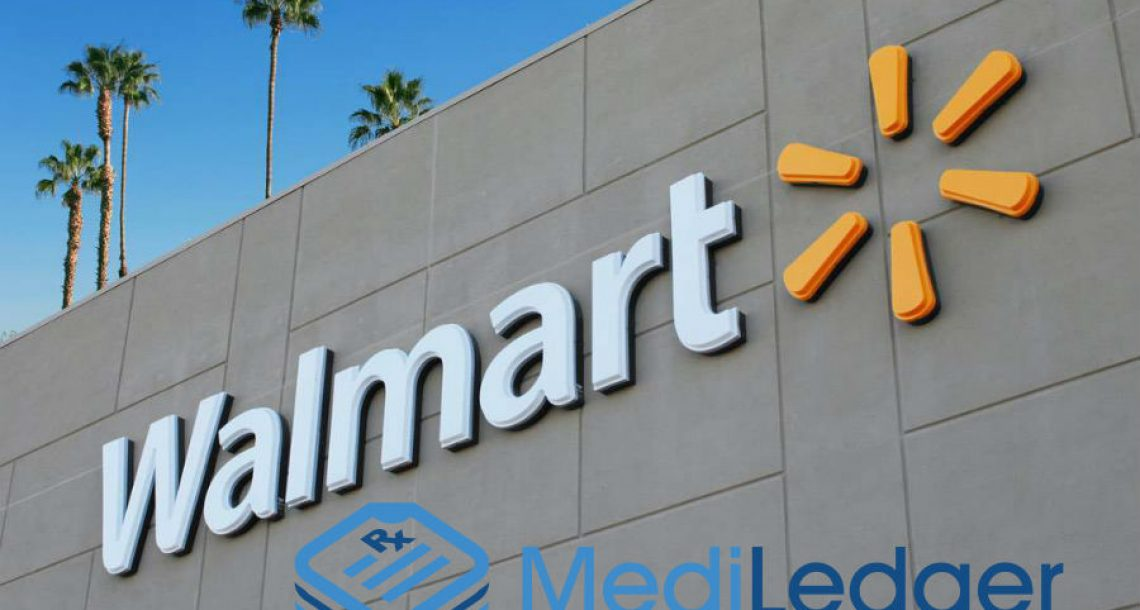 Walmart and MediLedger partnership will allow the tracking of prescription drugs in the blockchain